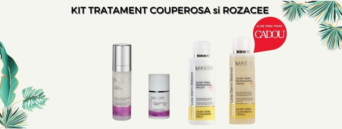Kit Tratament couperosa si rozacee